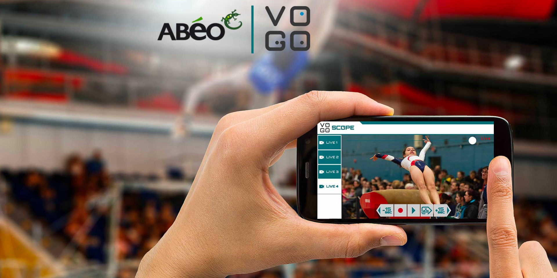 Technological and commercial alliance between ABEO and VOGO